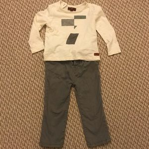 Bundle of boy 7 for All Mankind shirt and pant